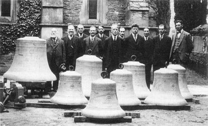 All Saints Bell Ringers 1926