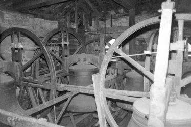 All Saints Bell Tower Inside 1987