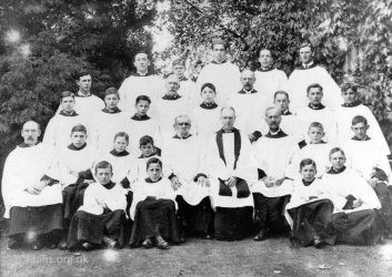 All Saints Choir C1918
