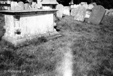 All Saints Church Tombs C1982