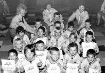 Beaver Scouts 1989
