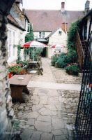 Bell Hotel Courtyard C1994