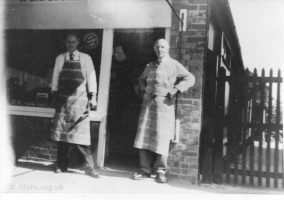 Boffin Butchers C1960 70s