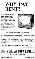 Burtwell Drew Advert 1960