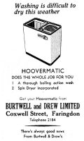 Burtwell Drew Advert2 1960