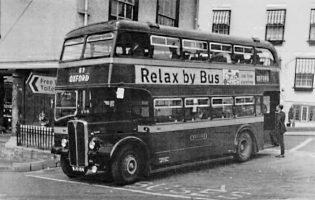Bus Service 57 C1960s