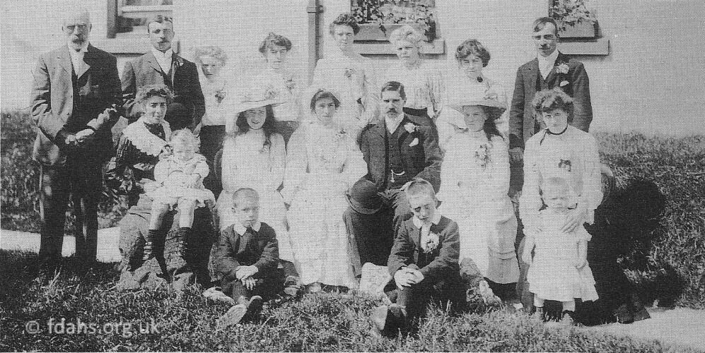 Buscot Wedding 1906