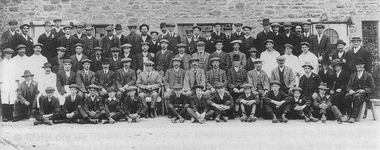 Coleshill Estate Staff 1910