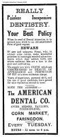 Cornmarket Taylor Advert 1914