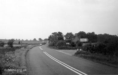 Coxwell Rd Great Coxwell 1978