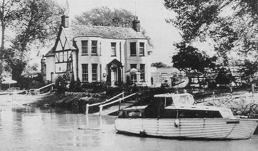 Eaton Hastings Anchor Inn 1970