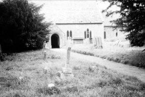 Eaton Hastings Graveyard 1984