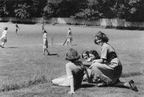 Elms Girls Cricket C1970s