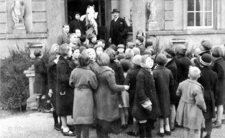 Evacuees Faringdon House 1940