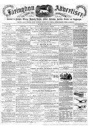 Faringdon Advertiser 1869