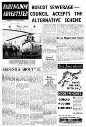 Faringdon Advertiser 1960