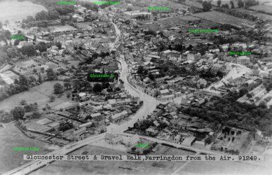 Faringdon Aerial 1935