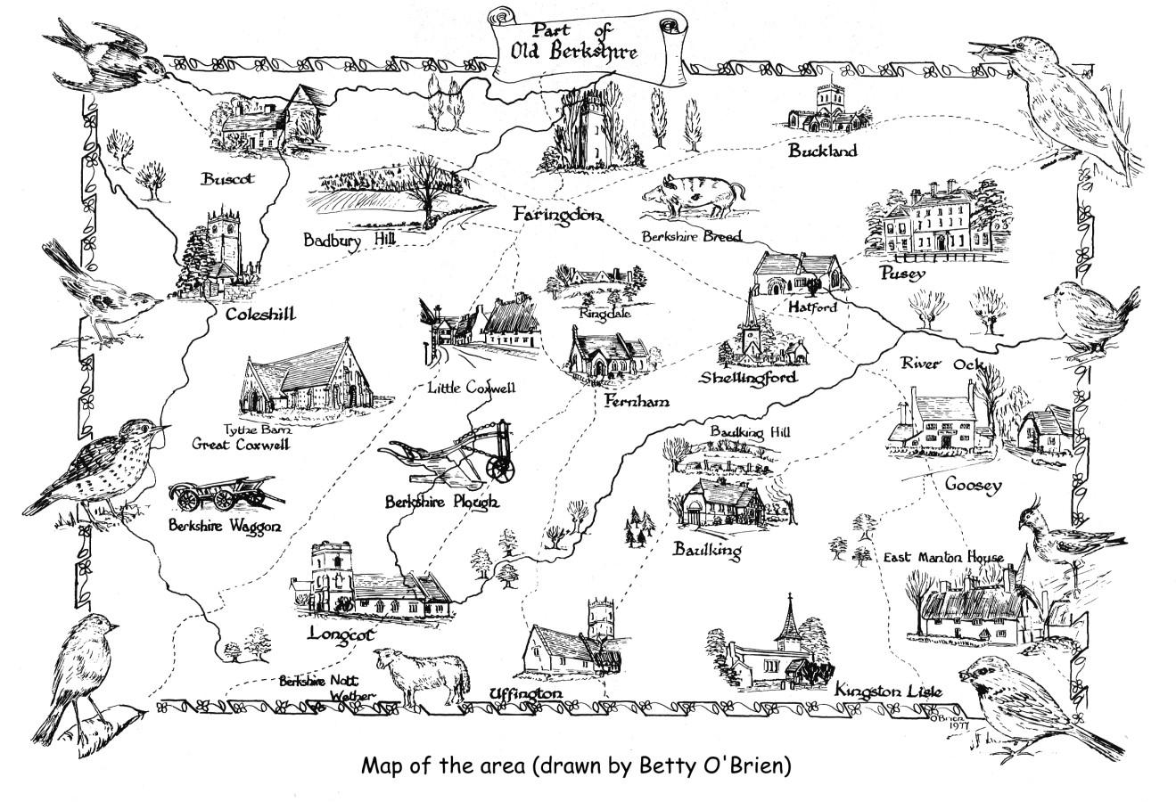 Faringdon Area Map