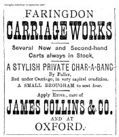 Faringdon Carriage Works 1897