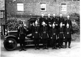 Faringdon Fire Brigade 1937