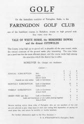 Faringdon Golf Club