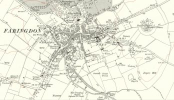 Faringdon Map 1910