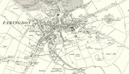 Faringdon Map 1910