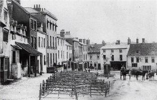 Faringdon Market 1880
