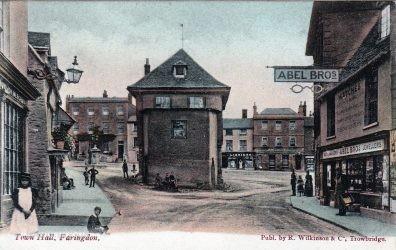 Faringdon Market Hall 1890