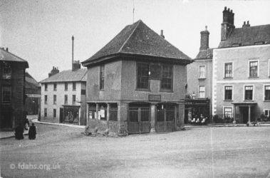 Faringdon Market Hall 1910s 1