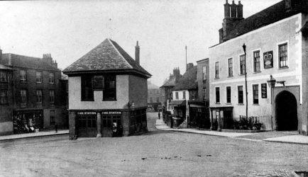 Faringdon Market Hall 1910s 2