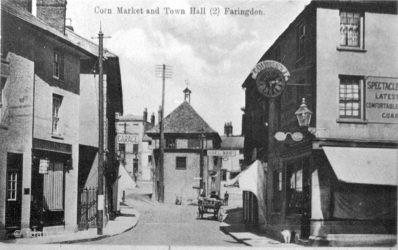 Faringdon Market Hall 1910s 4