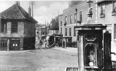 Faringdon Market Hall 1913 2