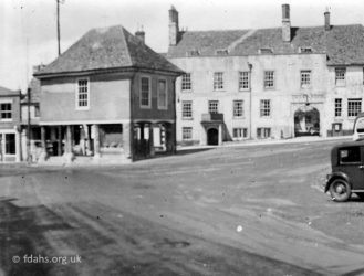 Faringdon Market Hall 1920s 1