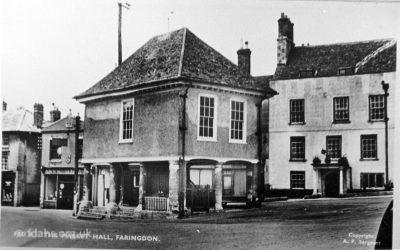 Faringdon Market Hall 1920s 2