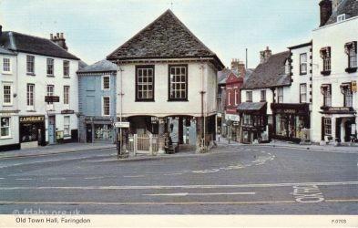 Faringdon Market Hall 1970s