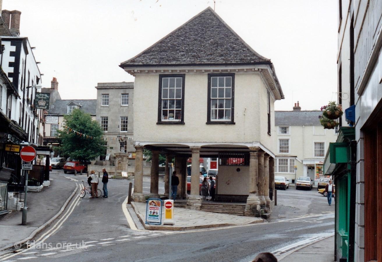 Faringdon Market Hall 1990s 6