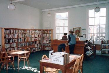 Faringdon Market Hall Library 1985