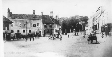 Faringdon Market Place 1880s