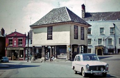 Faringdon Market Place 1962