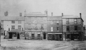 Faringdon Market Place East2 1880s