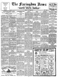Faringdon News 1937