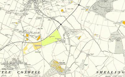 Faringdon Quary Map