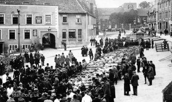 Faringdon Sheep Market 1904