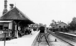 Faringdon Station 1919