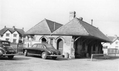 Faringdon Station C1950s