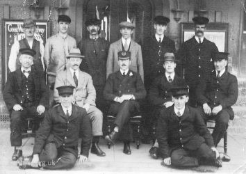 Faringdon Station Staff 1930s