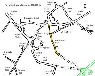Faringdon Streets Southampton