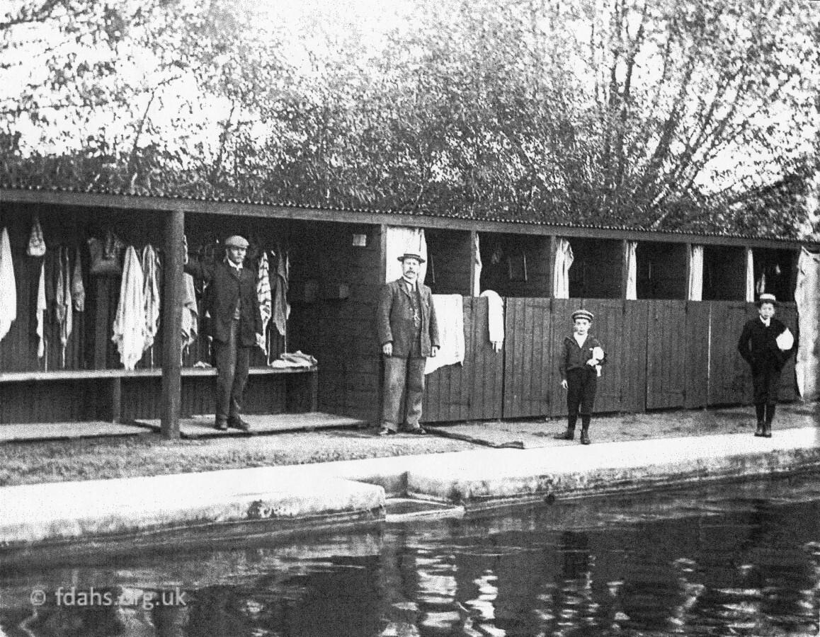 Faringdon Swimming Bath C1910s