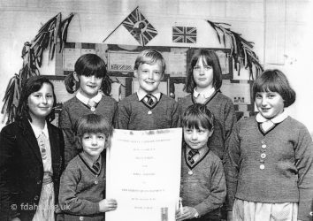 Ferndale School Pupils 1977